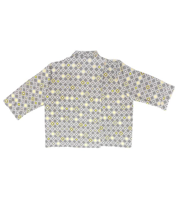 ACC Retro Diamond Print Blouse