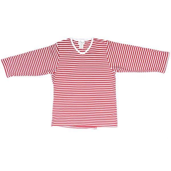 Striped V-Neck Tee