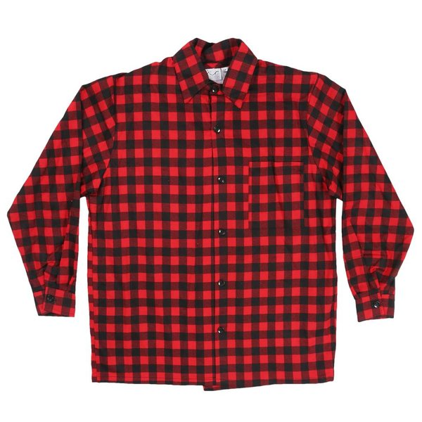 Buffalo Check Button Shirt