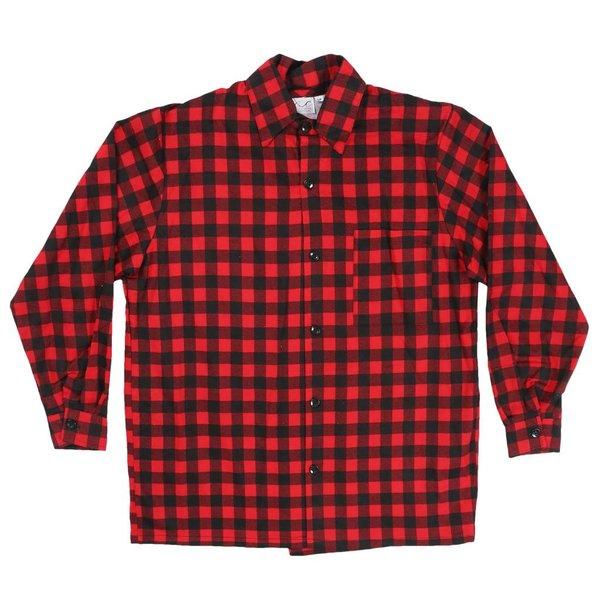 Buffalo Check Button Shirt