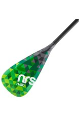 "NRS NRS Rush SUP 3-piece Paddle 68-86"" Green"