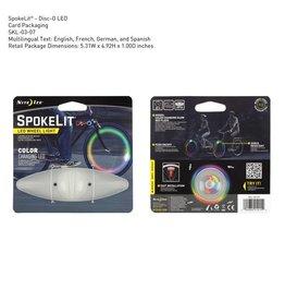 SpokeLight LED, Red