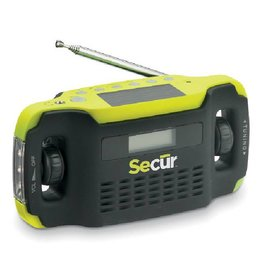 Secur Digital Solar Radio/LED