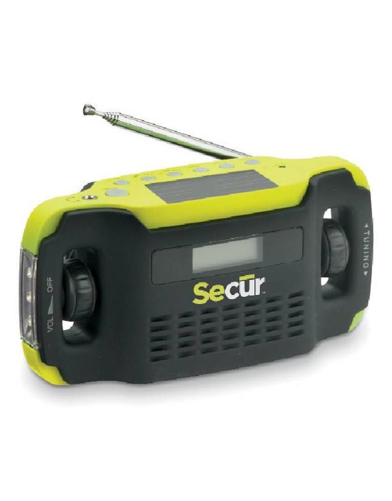 Secur Digital Solar Radio/LED