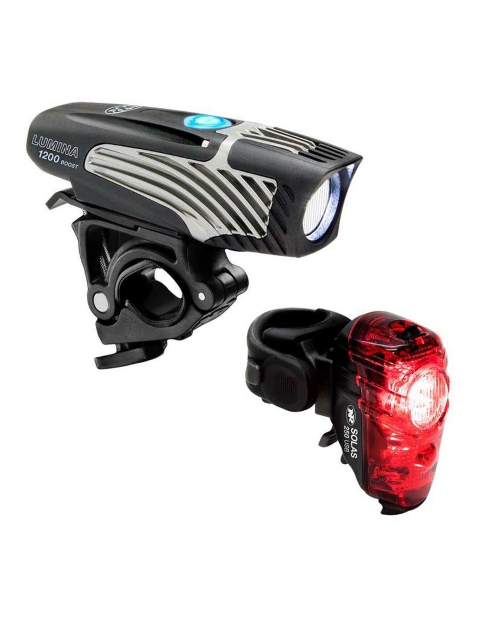 NiteRider NiteRider Lumina 1200 Boost Headlight and Solas 250  Taillight Set