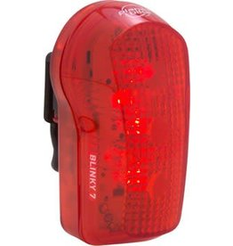 Planet Bike Blinky 7 LED Taillight: Red/Black