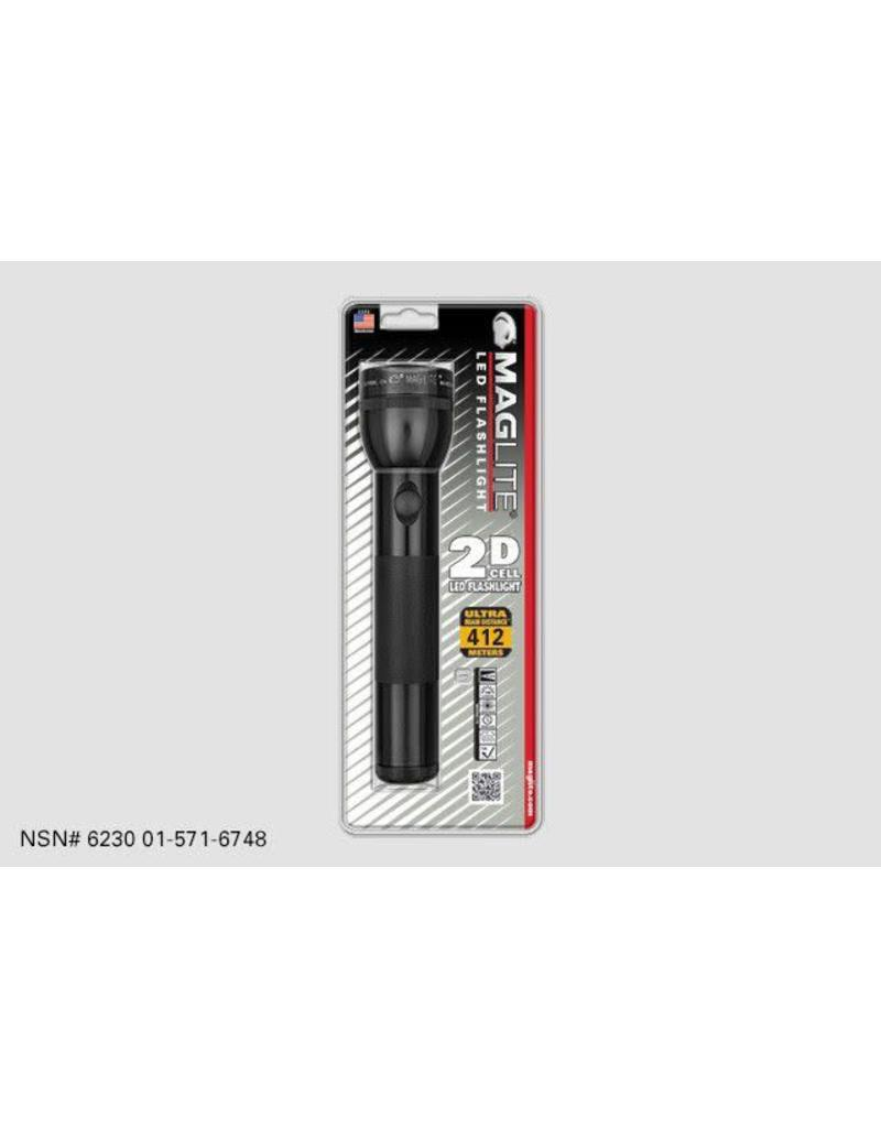 Maglite, LED, 2-cell D, Black