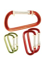 Carabiner 8cm (Assorted Colors)