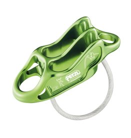 Petzl REVERSO 4 Belay Device Green