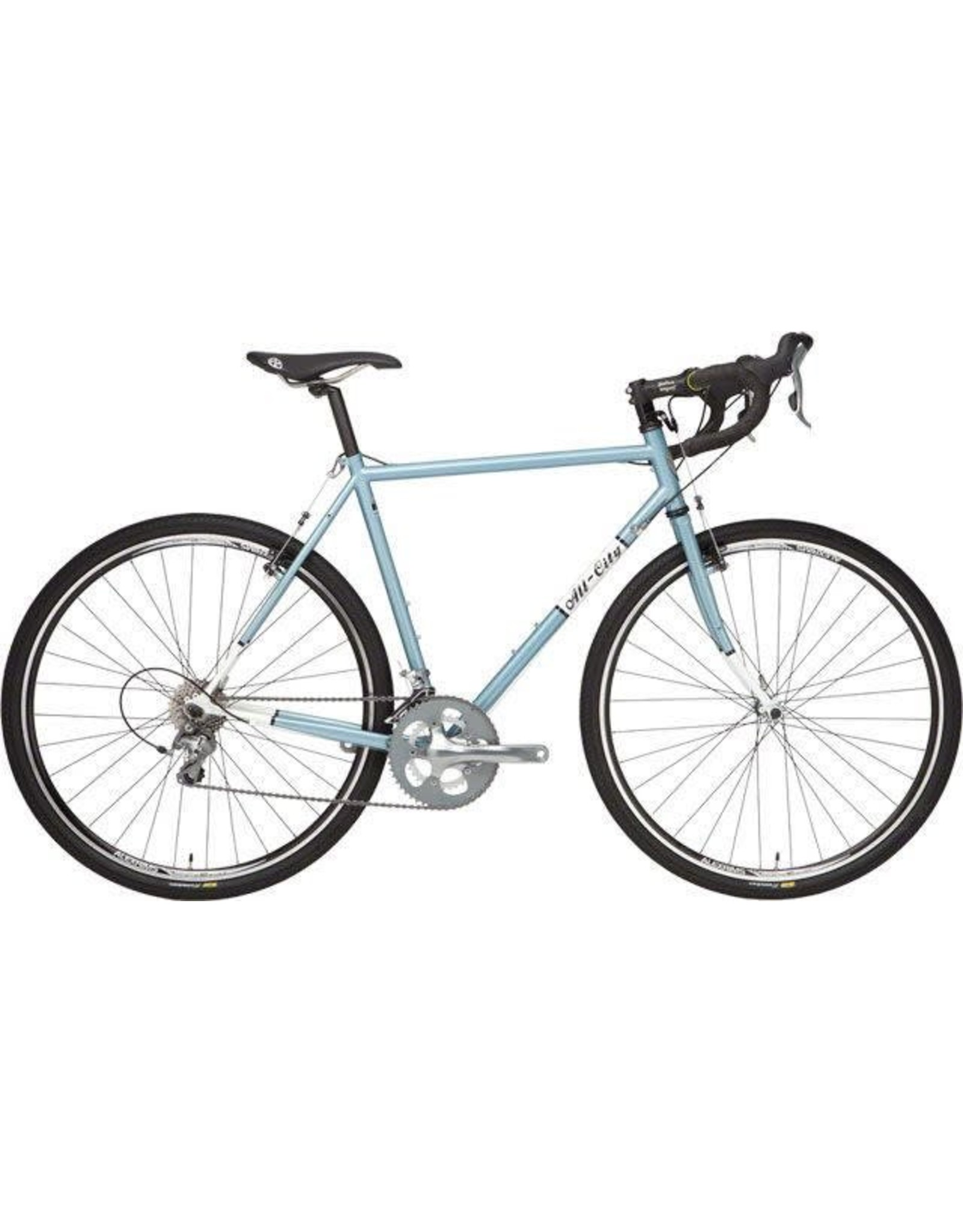 All-City 58cm Spacehorse Blue/White
