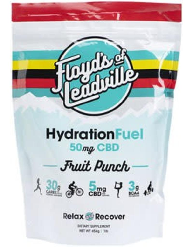 Floyd's of Leadville Floyd's of Leadville CBD Hydration Fuel Drink Mix: Isolate (THC Free) 50mg, Fruit Punch