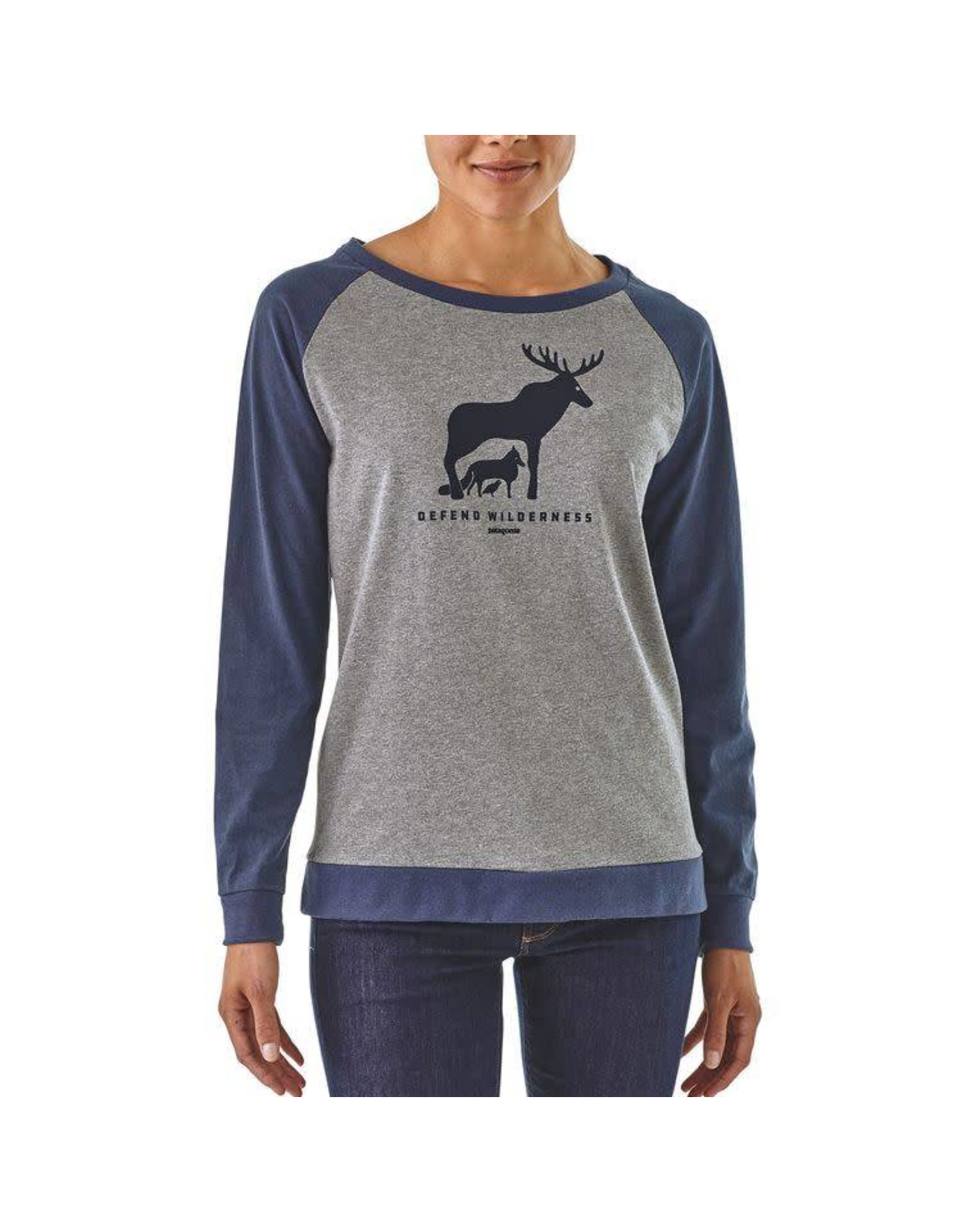 Patagonia W's Patagonia L/S Defend Wilderness Responsibili-Tee
