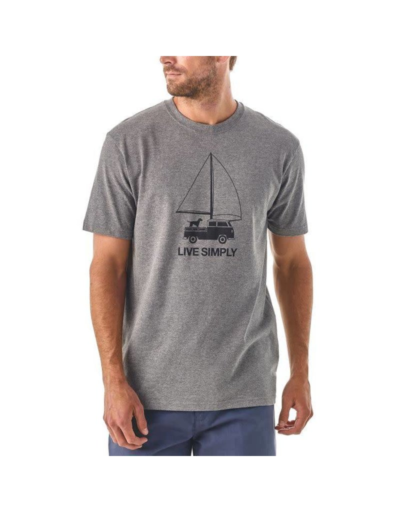 Patagonia M's Patagonia LIve Simply Wind Powered Responsibili-Tee