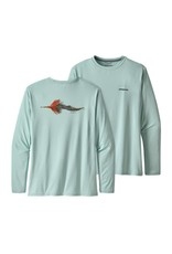 Patagonia Men's Patagonia Long-Sleeved Capilene® Cool Daily Fish Graphic Shirt