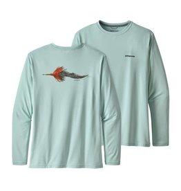 Patagonia M's Patagonia L/S Cap Cool Daily Fish Graphic Shirt