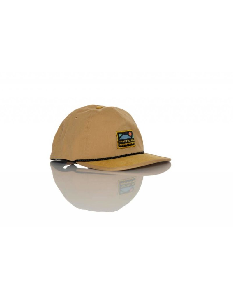 Fayettechill Fayettechill Abstract Hat - Tan - One Size