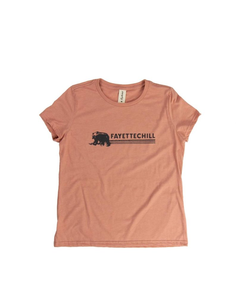 Fayettechill Fayettechill Women's Kuma Short-Sleeve Tee