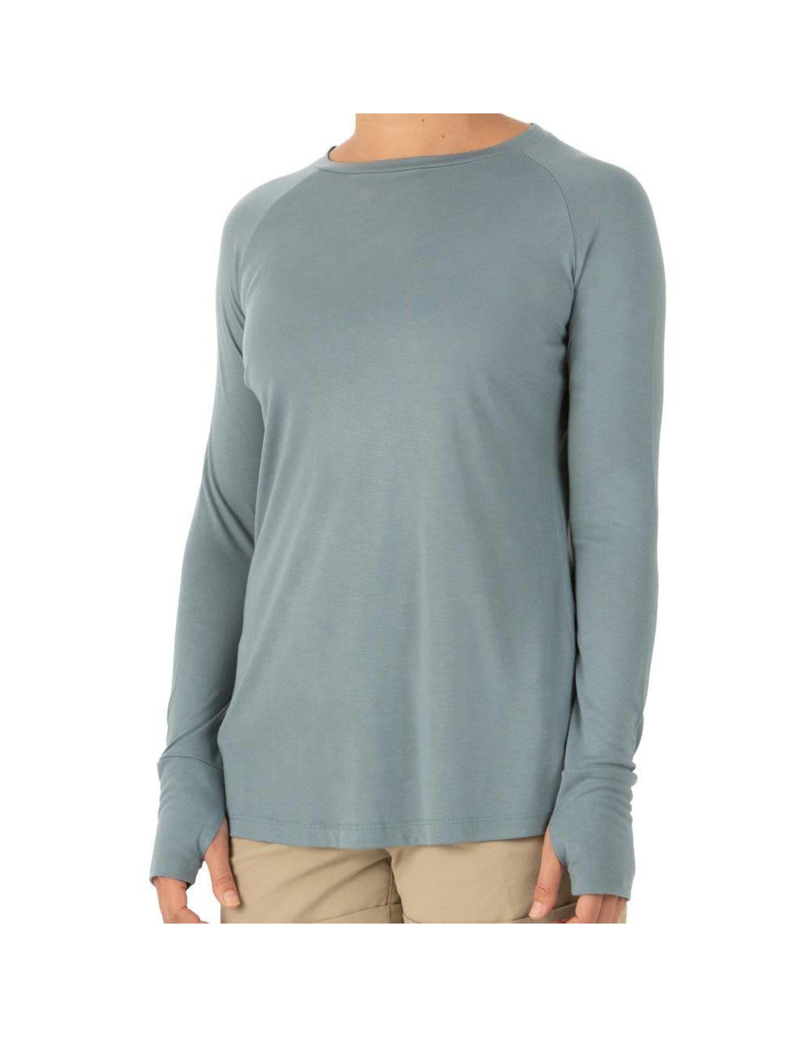 Free Fly Apparel Women's Free Fly Bamboo Weekender Long-Sleeve