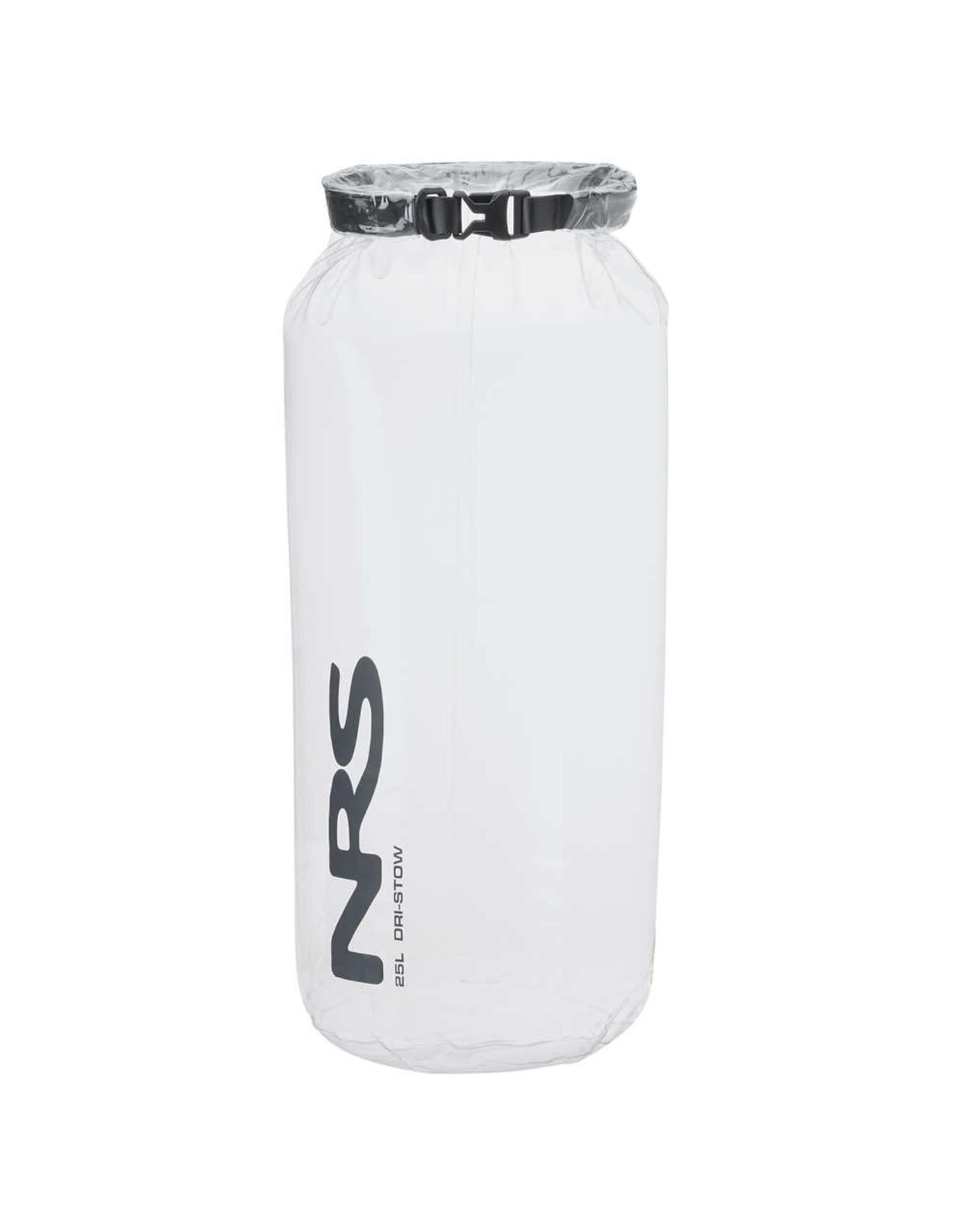 NRS NRS Dri-Stow Dry Sacks Clear 25L