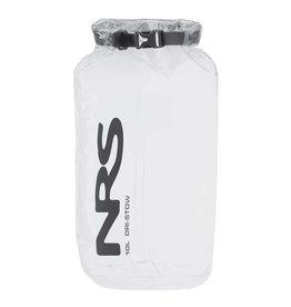 NRS NRS Dri-Stow Dry Sacks Clear 10L