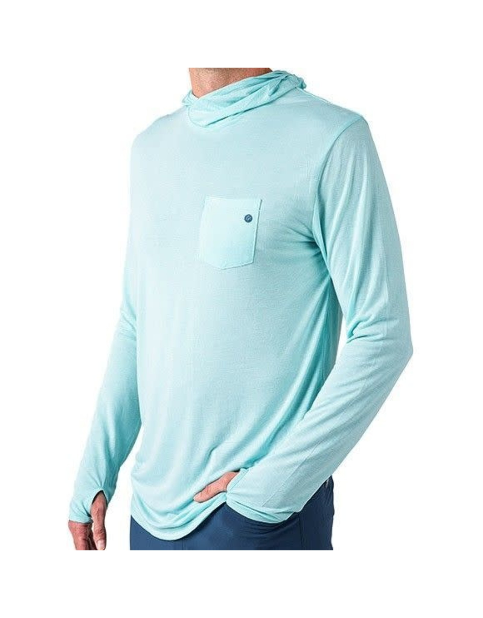 Free Fly Apparel Men's Free Fly Bamboo LightWeight Hoody