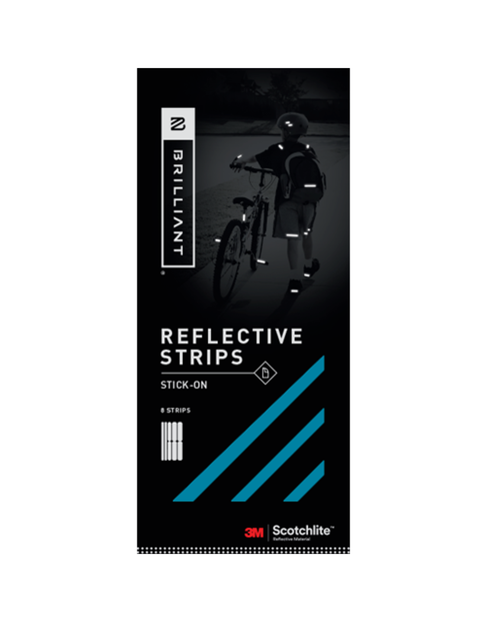 Brilliant Brilliant Reflective Strips - Stick On