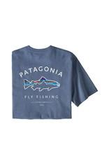 Patagonia Patagonia Men's Framed Fitz Roy Trout Responsibili-Tee