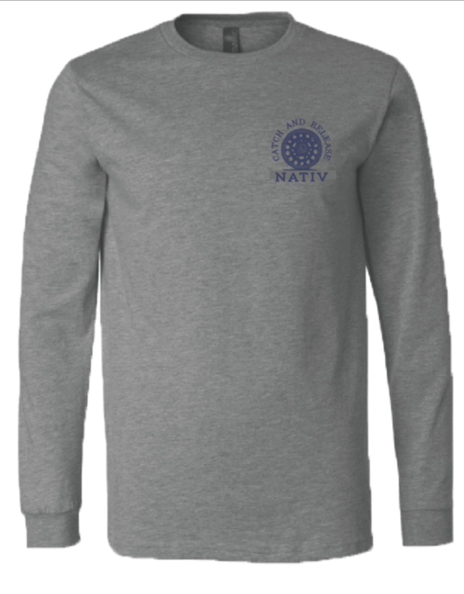 Nativ Nativ Topo Trout L/S T-Shirt