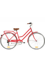 REID LADIES VINTAGE LITE 7SPD WATERMELON 52CM L