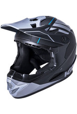 Kali Protectives Zoka Youth Full-Face Helmet - Black/Gray, Youth, Large
