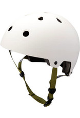 Kali Protectives Maha Helmet - Solid White, Medium