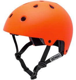 Kali Protectives Maha Helmet - Solid Matte Hi Viz Orange, Large