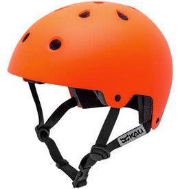 Kali Protectives Maha Helmet - Solid Matte Hi Viz Orange, Large