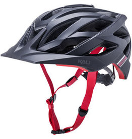 Kali Protectives Lunati Sync Helmet - Matte Black/Red, Small/Medium