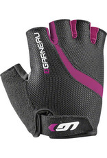 Garneau Biogel RX-V Gloves - Black/Fuscia Festival Pink, Short Finger, Women's, Small