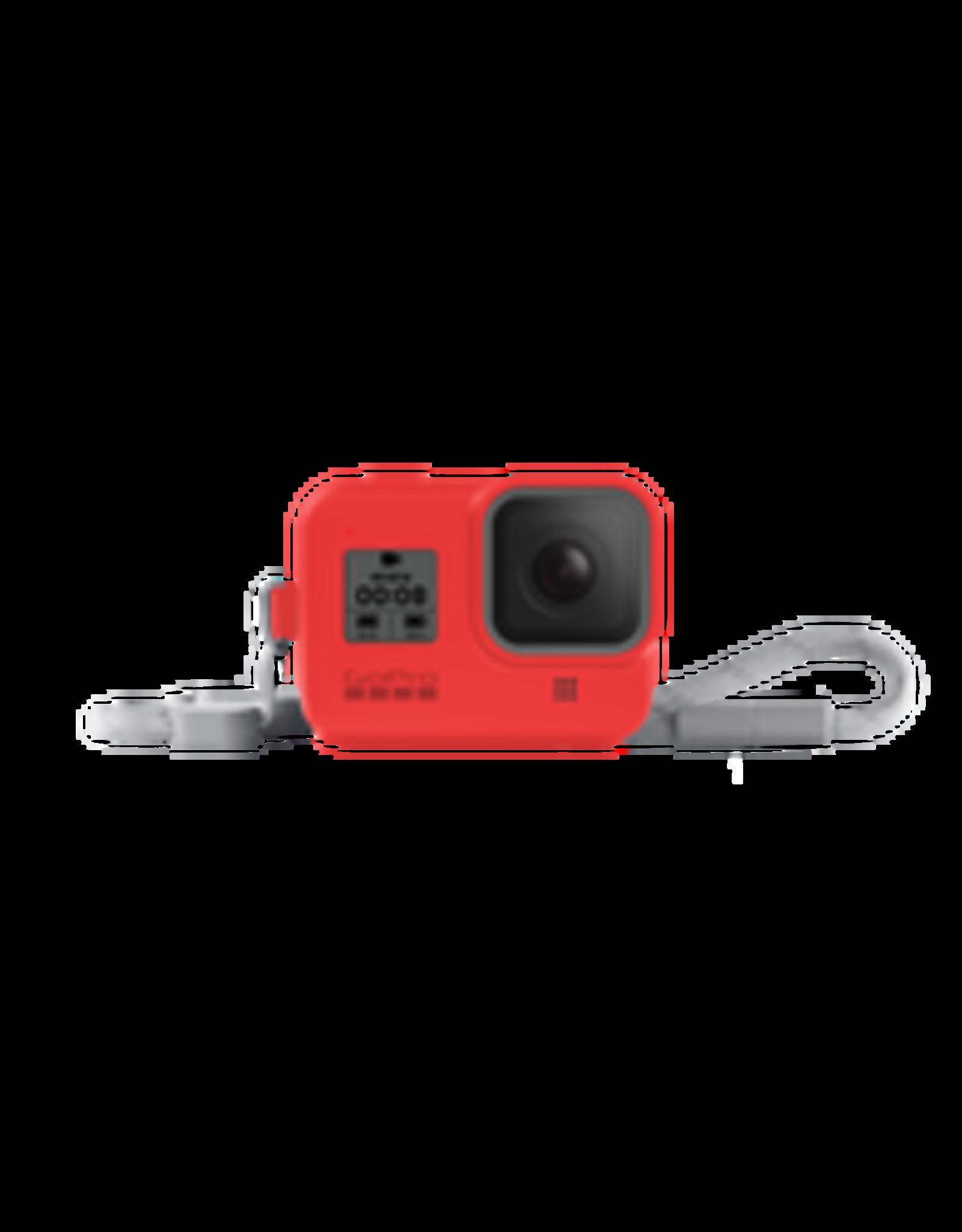 GoPro GoPro Sleeve + Lanyard (HERO8 Black) Firecracker Red
