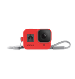GoPro GoPro Sleeve + Lanyard (HERO8 Black) Firecracker Red