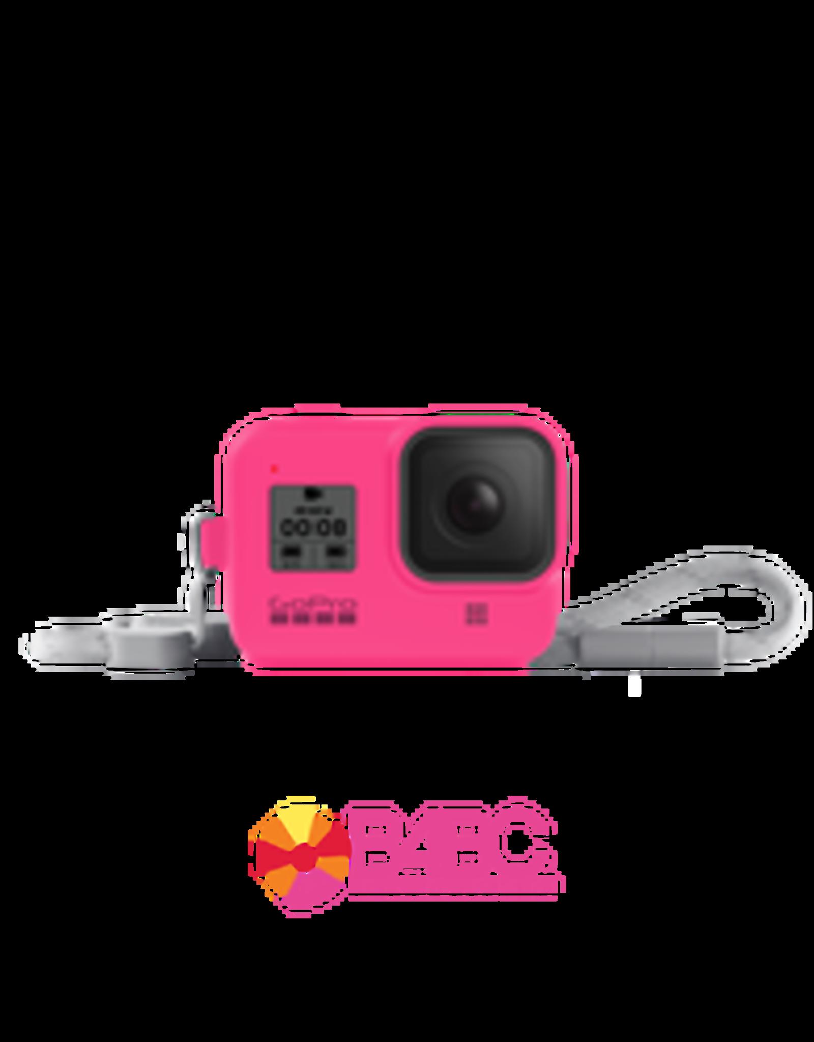 GoPro GoPro Sleeve + Lanyard (HERO8 Black) Electric Pink