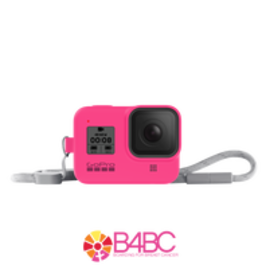 GoPro GoPro Sleeve + Lanyard (HERO8 Black) Electric Pink