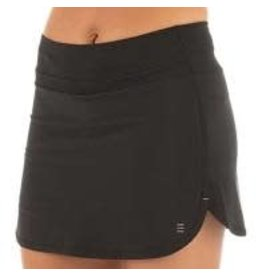 Free Fly Apparel Womens Bamboo-Lined Breeze Skort (Black)