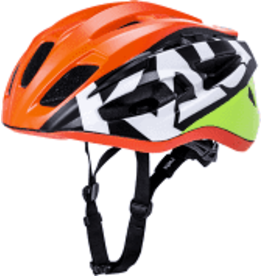 Kali Protectives Therapy Century Helmet - Matte Orange/Yellow, Large/X-Large