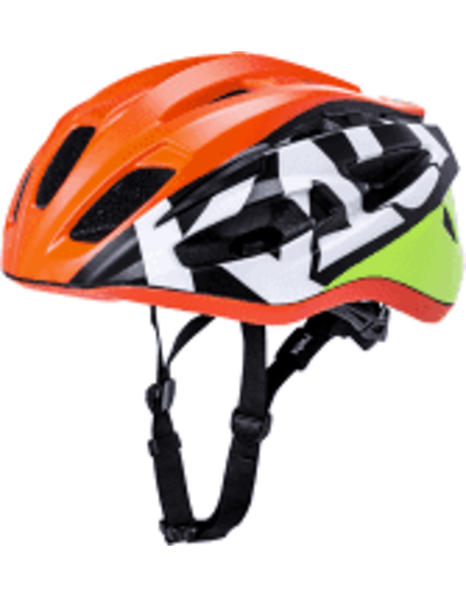 Kali Protectives Therapy Century Helmet - Matte Orange/Yellow, Large/X-Large