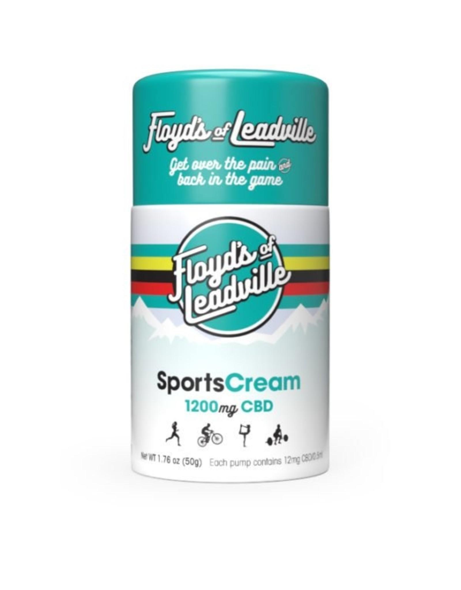 Floyd's of Leadville Floyd's of Leadville CBD Transdermal Cream: Isolate (THC Free) 1200mg