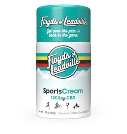 Floyd's of Leadville Floyd's of Leadville CBD Transdermal Cream: Isolate (THC Free) 1200mg