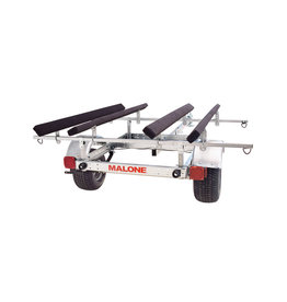 Malone XtraLighyt LowMax 2 Kayak Trailer Package (2 sets Bunks)
