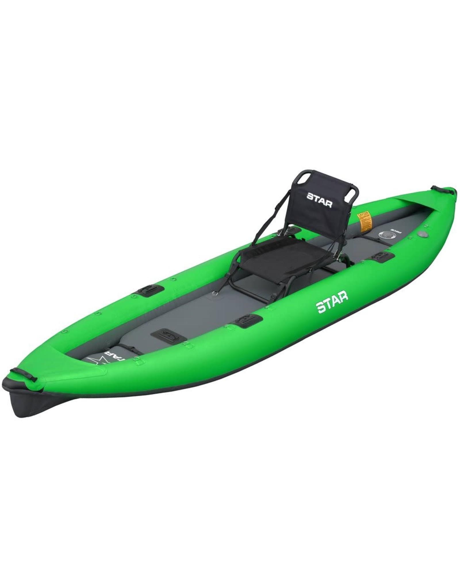 STAR Inflatables STAR Pike Inflatable Fishing Kayak Lime