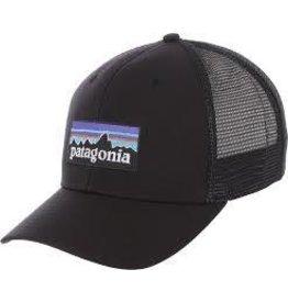 Patagonia P-6 Logo Trucker Hat Black ALL