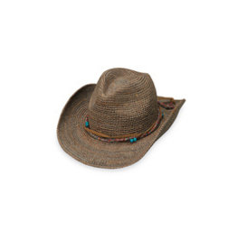 Wallaroo Hat Co Catalina Cowboy-Mushroom