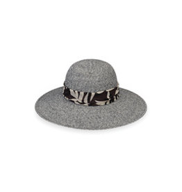 Wallaroo Hat Co Mia Black Combo