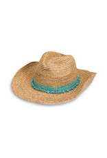 Wallaroo Hat Co Tahiti Cowboy Turquoise